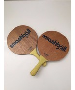 2 Original Israeli Beach Racquet Matkot Paddles TING-DONG Wood Game Kids... - $19.79