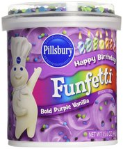 Pillsbury Funfetti Frosting - Bold Purple - 15.6 Ounces - $10.99