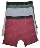 Men's Stashitware Secret Pocket Underwear, Boxer Briefs, Red, Gray, Gree... - $34.00