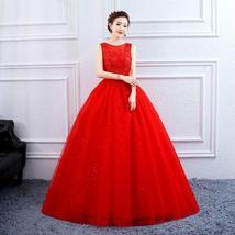 Designer Floor Length Princess High Waist Plus Sizes Bridal Wedding Gown image 7
