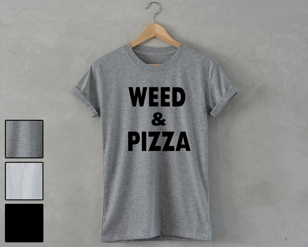 Weed and pizza mt gray