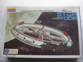 1976 Lindberg Star Probe Model Kit Space Base Station 1148 NOS Sealed Vi... - $79.19