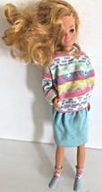 Vintage 1978 MATTEL Sister BARBIE 9.5 inch tall Blond Hair Doll - $4.94