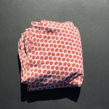 "Orange White Full Duvet Cover Ikea Beata Tistel 78"" x 84"" Hedgehogs Cotton - $33.85"