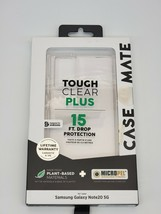 Case-Mate Tough Clear Plus Case for Samsung Note20 Note 20 5G - Pure Clear - $11.87