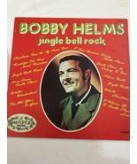 BOBBY HELMS - JINGLE BELL ROCK LP - MISTLETOE 1206•CHRISTMAS CLASSIC Shi... - $16.81