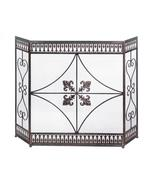 French flourish fireplace screen thumbtall