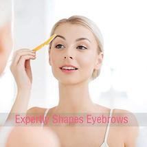 Boao 24 Pieces Eyebrow Razor Facial Razor Shaper Trimmer with Precision Cover image 5