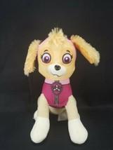 """Paw Patrol Skye Stuffed Animal Plush Pink Dog Girl 8"""" nick jr Spin Master - $10.68"""