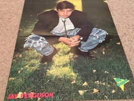 Jay Ferguson teen magazine poster clipping squatting in the grass Big Bopper