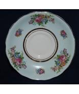 Colclough Fine Bone Pastel Rose Green China Saucer - $7.59