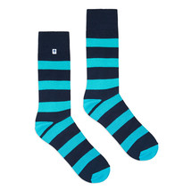Blue Stripes Socks - $8.40