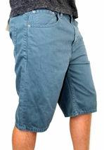 Levi's 508 Men's Premium Cotton Regular Taper Shorts Straight Fit Blue image 3