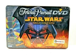Trivial Pursuit DVD Star Wars SAGA EDITION Toys R Us Exclusive in Tin 20... - $39.55