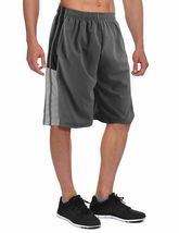 Men's Athletic Mesh Workout Fitness Training Basketball Sports Gym Shorts image 9