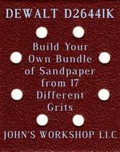 Build Your Own Bundle DEWALT D26441K 1/4 Sheet No-Slip Sandpaper - 17 Grits! - $0.99