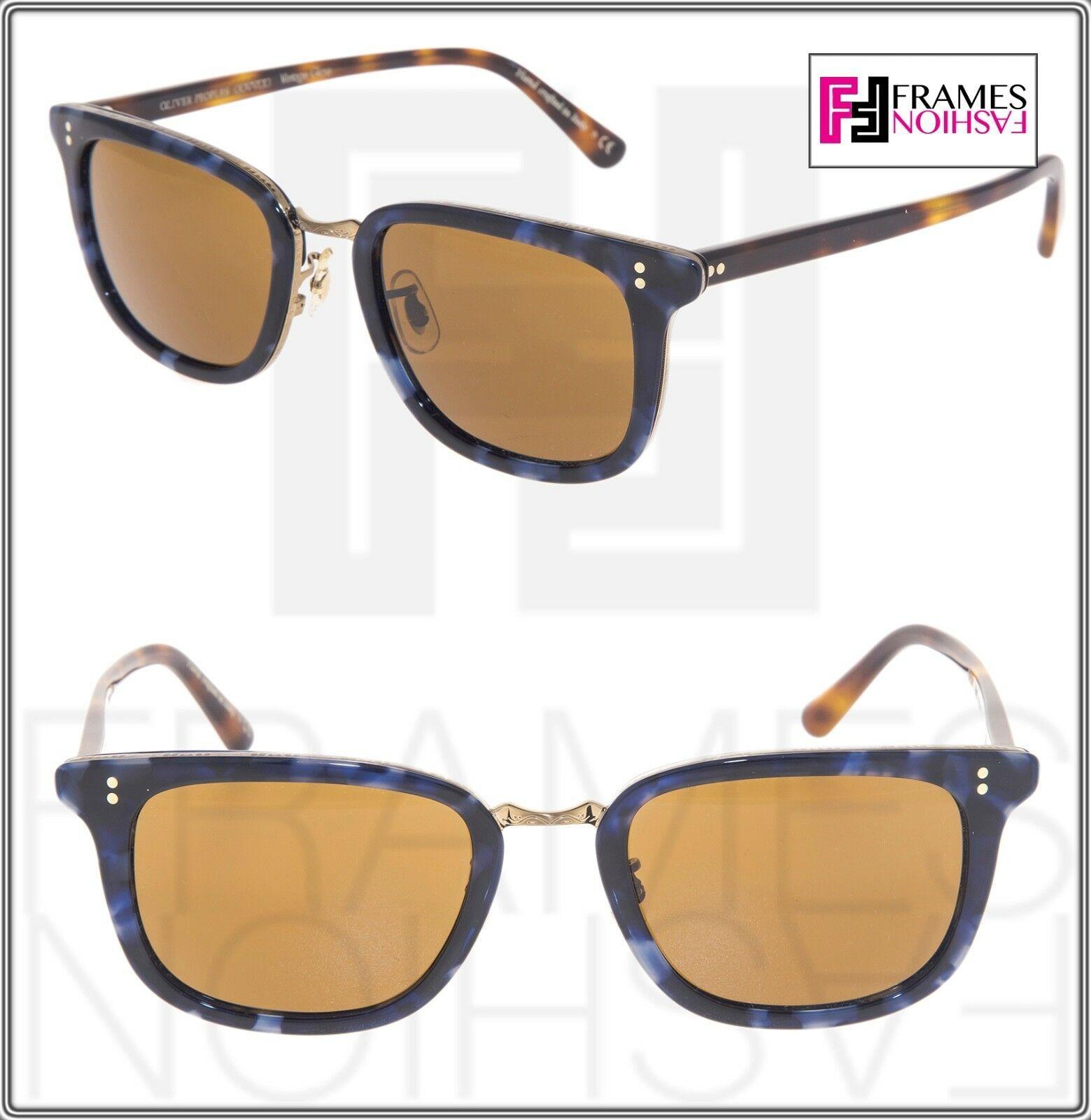 OLIVER PEOPLES KETTNER OV5339S Brown Blue Tortoise Cosmik Sunglasses 5339