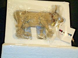 CowParade Pull Toy Item # 9130 Westland Giftware AA-191941  Vintage Collectible image 3