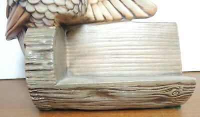 Vintage Ceramic Owl Recipe Holder