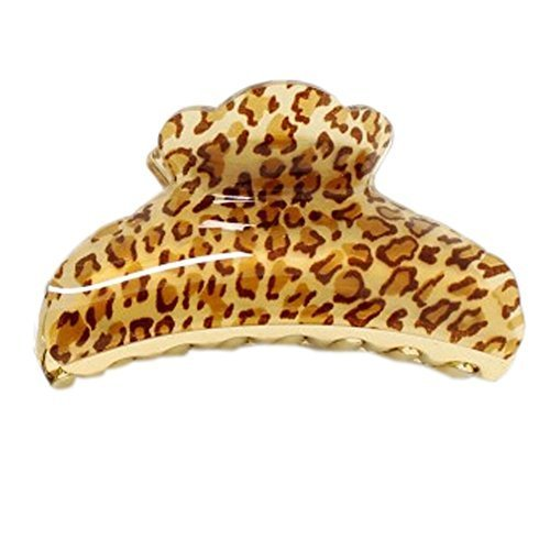 [Brown Leopard-print]Hair Pins Hair Accessory Hair Claws Hair Barrettes Set of 3