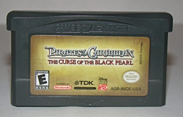 Primary image for Nintendo GAME BOY ADVANCE - PIRATES OF THE CARIBBEAN (Game Only)