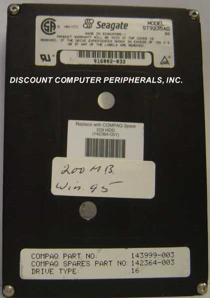"209MB 2.5"" 19MM IDE Drive Seagate ST9235AG Tested Free USA Ship Our Drives Work"