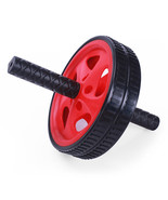Adeco Exercise & Fitness Ab Wheel Roller Abdominal Exercise Equipment, Red - $13.29