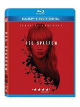 Red Sparrow [Blu-ray+DVD+Digital, 2018]