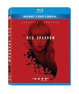 Red Sparrow [Blu-ray+DVD+Digital, 2018] - $13.95