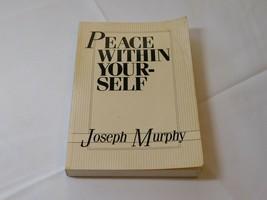 Paix En Yourself Par Joseph Murphy Livre de Poche 1989 Devorss & Société - $16.02