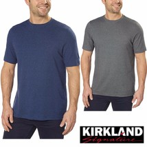 Kirkland Signature Men's 100% Peruvian Pima Cotton Crew Neck T-Shirt