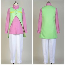 JoJo's Bizarre Adventure Rohan Kishibe Uniform Cosplay Costume Suit Vest Outfit - $64.00+