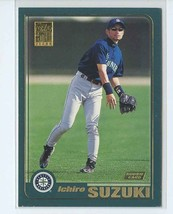 ICHIRO SUZUKI RC 2001 Topps #726 Seattle Mariners Baseball Sports Cards - $14.99