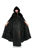 Underwraps Deluxe Velvet Satin Flocked Capt Adult Womens Halloween Costu... - $39.99