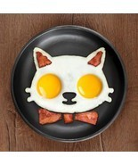 PREUP 1 pcs Kitchen Shaper Cats Fried Eggs Silicone Cute - $15.95