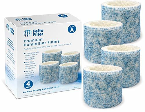 Fette Filter - Blue Mesh Humidifier Wicking Filters Compatible with Honeywell HA