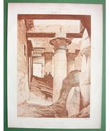 ARCHITECTURE PRINT: Egypt Karnak Temple of Khons - $22.95