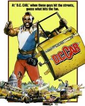 DC Cab T-shirt Mr. T 1980's retro movie funny comedy film vintage cotton tee image 2