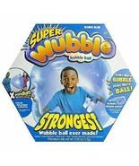 Super Wubble Bubble Ball BOING BLUE TEAR RESISTANT INCLUDES PUMP New In ... - $19.72