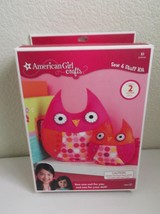 American Girl Crafts Owls  Sew & Stuff Kit - 50 Pieces Included - $16.14