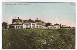 Pine Beach Hotel Norfolk Virginia 1909 postcard - $6.44