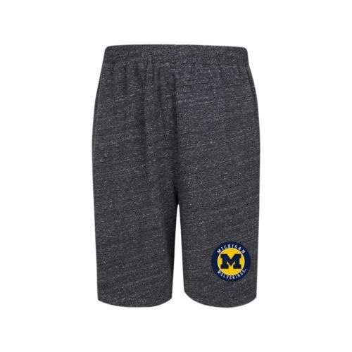 Michigan Wolverines Men's Pitch-Out Shorts Jersey Knit Pocket Team Patch Short