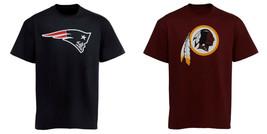 NFL Boy's 8-18 Team Logo Tee Shirt Youth Kids T-Shirt Tee Football NEW