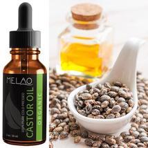 Oil Castor Growth Eyelashes Organic Pure Serum Hair And Eyebrow Eyelash ... - $11.99