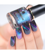 HOLOGRAPHIC 3D MAGNETIC SERIES Glitter Varnish Magnet Nail Art Lacquer - ₹355.08 INR+