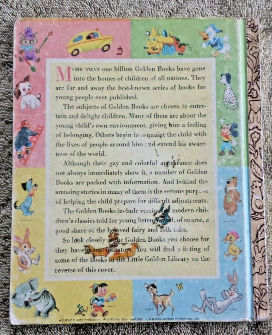 Vintage ~ Little Golden Book ~ WE HELP MOMMY ~ Children's Reader ~ Circa 1959