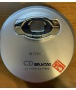 Sony CD Player Portable Walkman D-EJ611 G-Protection Mega Bass Tested w.... - $18.66