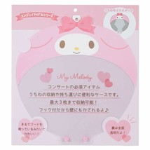 Sanrio Enjoy Idol My Melody Paper Fan Case with Hook Store up to 3 Fans Japan - $32.73