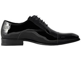 Florsheim Tux Cap Toe Black Patent Mens Oxford Shoes [14213 004] - $87.95