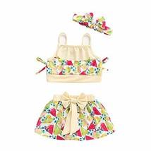 PROBABY BabySwimsuitGirl Halter Shoulder Swimwear Polka Dot Bikini Bat... - $14.56
